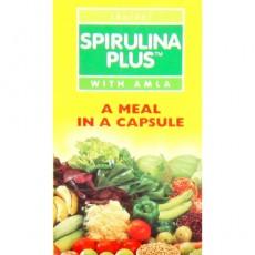 Капсулы Spirulina Plus Baidyanath (Спирулина с амлой), 100 шт