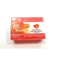 Мыло Khadi Strawberry (Кхади Клубника)