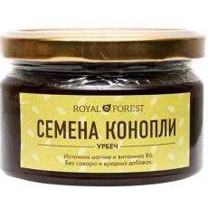 Урбеч из семян конопли Royal Forest (Роял Форест), 200г